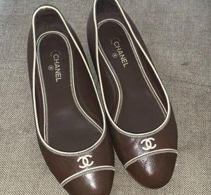 CHANEL Brown Shoes